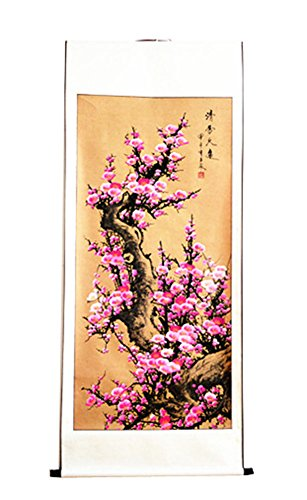 - Exquisite Chinese Painting Art Office Decorative Painting (Pink Plum Flower£
