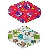MonkeyJack Pieceo f 2 Mama Girl Maiden Antibacterial Napkin Menstrual Pads Reusable Panty Liners