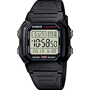 Casio Collection  W-800H-1AVES, Reloj Digital Unisex, Negro 51 K1b56AQL