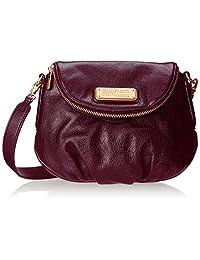 New! Marc Jacobs New Q Natasha Leather Crossbody Bag