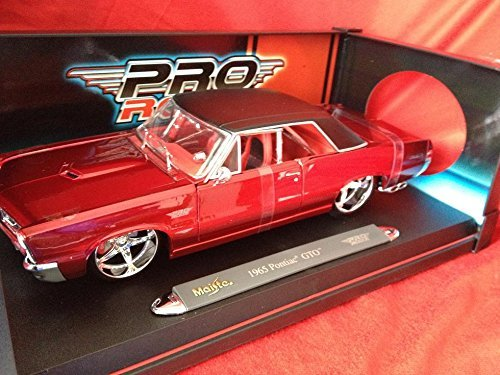 1965 Red Pontiac Pontiac GTO Classic Muscle Car Pro Rodz Series Adult Diecast Collectible [parallel import goods] - Pro Rodz Series