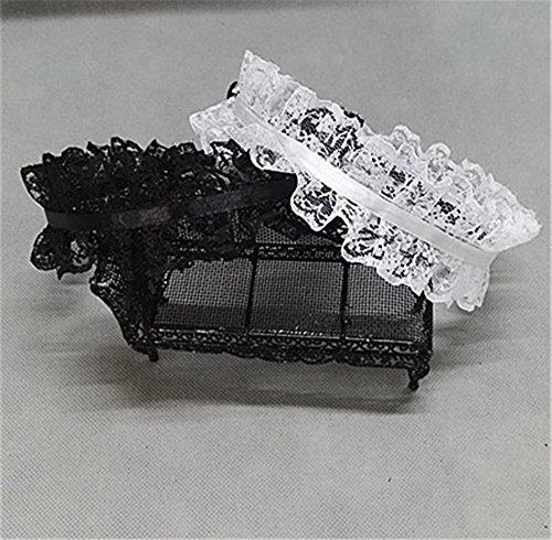 Handmade Hair Accessory Headband Gothic lolita cosplay maid