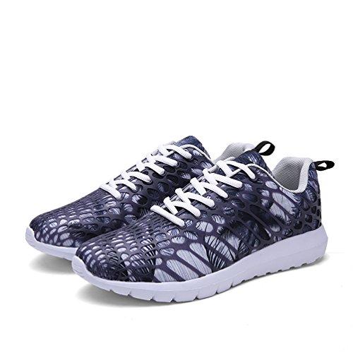 Dannto Air Cushion Sneakers Men Women's Mesh Training Running Walking Shoes Competition Casual Breathable Gym Sneaker black-A Orange 100% Original LUPKf