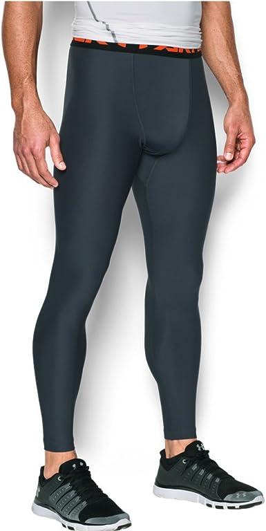 New Green Under Armour UA Men/'s HeatGear Armour Compression 3//4 Leggings