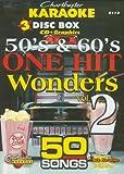 Chartbuster Karaoke CDG 3 Disc Pack CB5113 - 50's & 60's One Hit Wonders Vol. 2