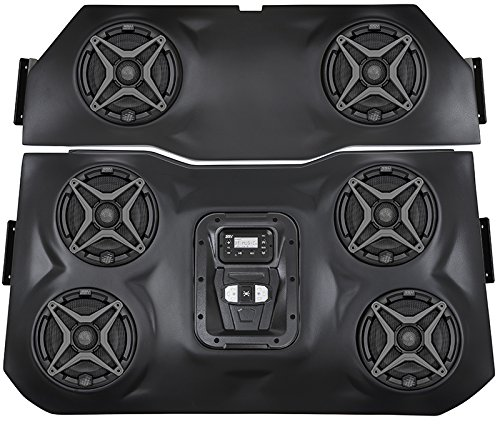 SSV Works WP-RZ3O6 Polaris RZR XP1000 2 seat BLUETOOTH 6 Speaker Overhead Stereo System