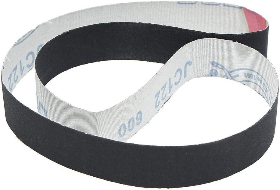 CHUNSHENN Durable 12Pcs 1x30 Inch Sanding Belts Silicon CarbideGrits Abrasive Sanding Belts 400//600//800//1000 Abrasive Accessories