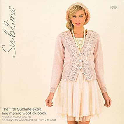 Amazon Sublime The Fifth Extra Fine Merino Wool Book 658