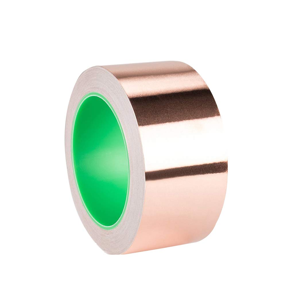 YuCool Copper Foil Tape Leitfä higes selbstklebendes (2inch x 33ft) Extralanges wertvolles Paket