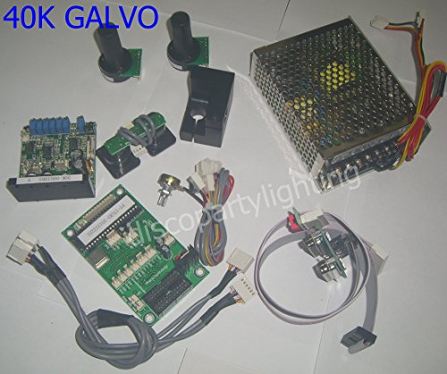 30K laser Galvo Galvanometer Based Optical Scanner (including Show Card) Max 45 kpps by eHaiSong