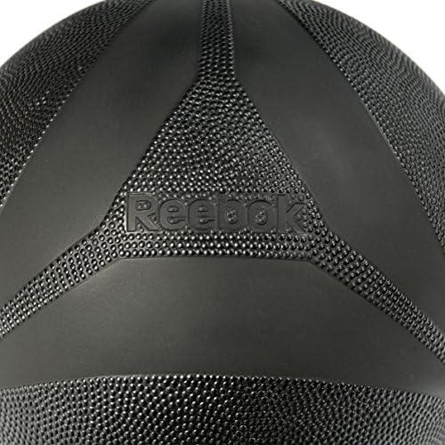 Reebok RSB-10231 Balón medicinal golpeo, Negro, 5 kg: Amazon.es ...