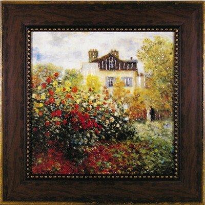 名画 ミュージアム シリーズ モネ「庭園のアーチスト」/ 絵画 壁掛け のあゆわら B003ARD8KY