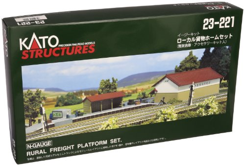 Kato USA, Inc. N Rural Freight Platform Set