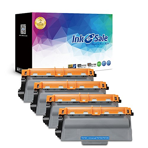 Ink e sale 4 pack brother tn750 toner cartridge compatible for Ink sale
