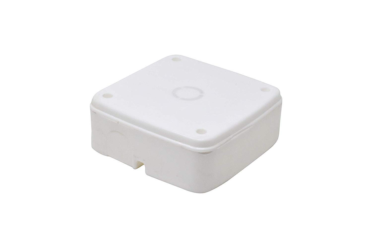PVC Square Junction Box for CCTV Cameras(04 Nos Combo)