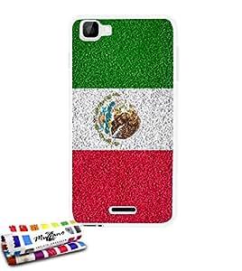 Funda fina Originale de MUZZANO Dal Modelo México Bandera para WIKO KITE 4G