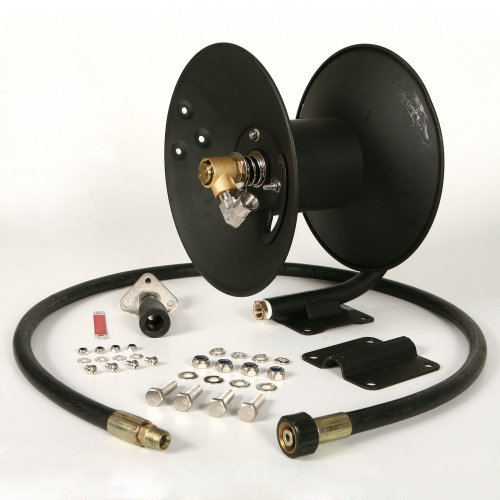 Apache 99023586 3700 PSI 50' Steel Pressure Washer Hose Reel ()