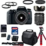 Canon EOS Rebel T6s With Canon EF-S 18-55mm f/3.5-5.6 IS STM Lens (WiFi ,NFC) + Case + Filters + Macro Kit + 32GB Commander Memory Card + Tulip Hood + Tripod - International Version