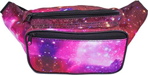 SoJourner Bags Fanny Pack - Galaxy, Rave, Festival, Metallic, Holographic (Multiple Styles)