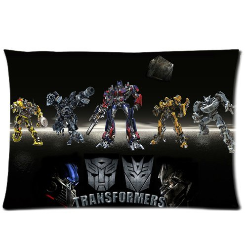 2014 Seconds Kill New Home Deco Movie Transformers 20X30 Inch Two Sides Pillowcase (Transformers 2 Alice)