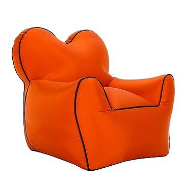 TZTED Sofa Hinchable del Aire del Ocioso de Playa,Tumbona ...