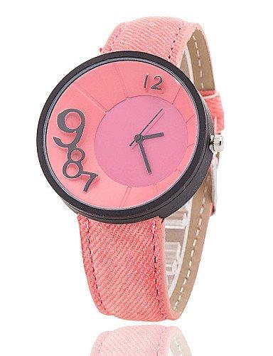 Xin & ZA Hombre/Mujer/Unisex Mode Reloj Quartz Relojes de pulsera banda para