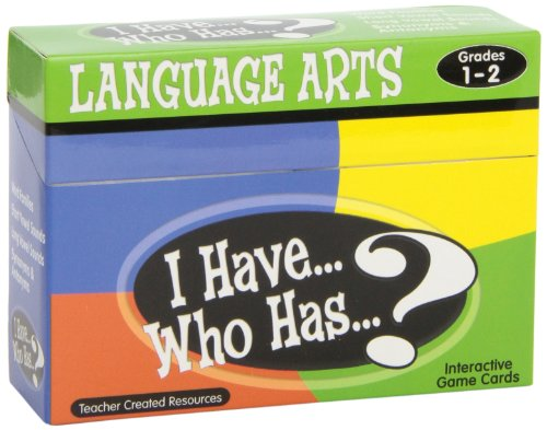 (I Have, Who Has?: Language Arts Game, Grades 1-2)