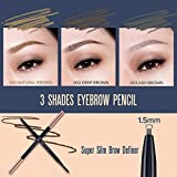 PONY EFFECT Sharping Brow Definer | Super Silm Brow Definer for Natural-looking Brows | Korean Beauty