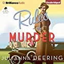 Rules of Murder: Drew Farthering, Book 1 Audiobook by Julianna Deering Narrated by Simon Vance