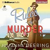 Rules of Murder: Drew Farthering, Book 1 | Julianna Deering