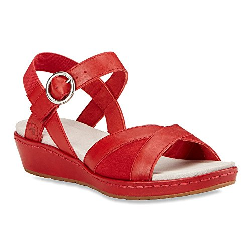 Ariat Womens Out And About Quarter Sandalo Rosso