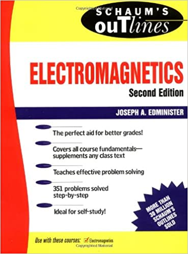schaum electromagnetics solution
