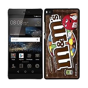FUNDA CARCASA PARA Huawei P8 Lite DISEÑO CHOCOLATE BORDE NEGRO