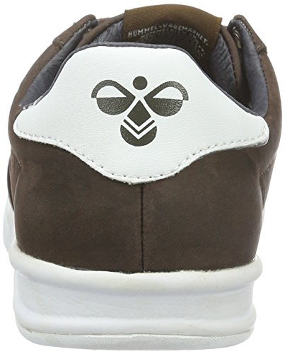 Hummel Hml Stadil Winter Low Sneaker, Zapatillas Unisex Adulto Marrón (Chestnut)