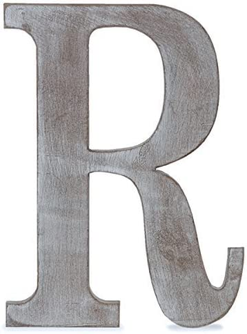 Charcoal Grey 8 L The Lucky Clover Trading S Wood Block Letter