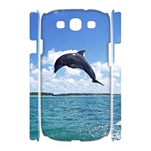 Case Of Dolphin Customized Hard Case For Samsung Galaxy S3 I9300