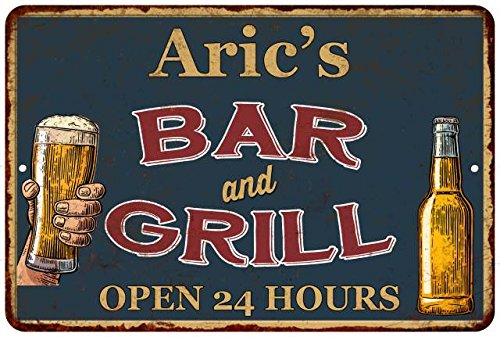 Aric's Green Bar and Grill Pending 24hrs Chic Sign Home Décor Gift G81204286