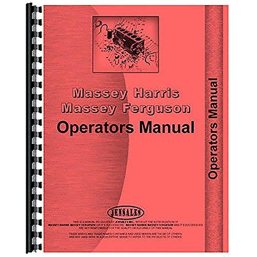 Massey Ferguson Backhoe - New Massey Ferguson 185 Backhoe Operator's Manual (Attachment)