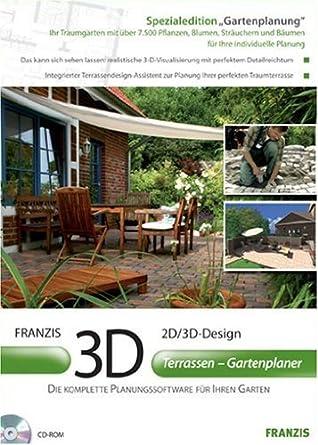 3d Terrassen Gartenplaner Amazonde Software