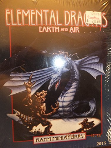 Elemental Dragons: Earth and Air Miniatures Boxed Set