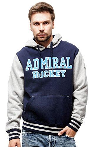 HC Admiral Vladivostok KHL Pullover Hoodie Sweatshirt, dark blue, Size XL
