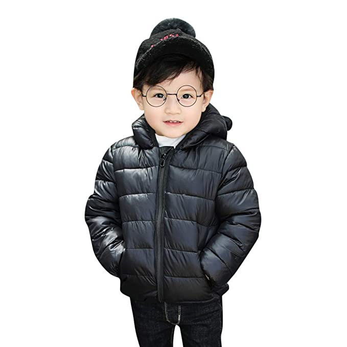 5bc3f40201617 Amazon.com  Sarahwu Kids Winter Outdoor Hoodies