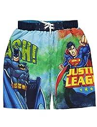 """Justice League Big Boys' """"Smash!"""" Boardshorts"""