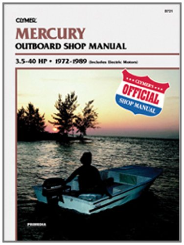 Clymer Mercury URY 3.5 40Hp Manual