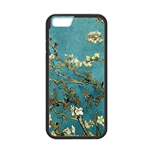 Van Gogh Almond Blossoms iPhone 6 Plus 5.5 Inch Cell Phone Case Black Mzwzg