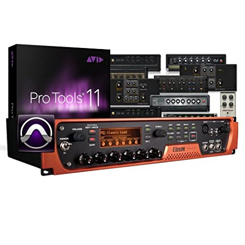 Avid 99006518200 Pro Tools and Eleven Rack (12 Guitar Amp)