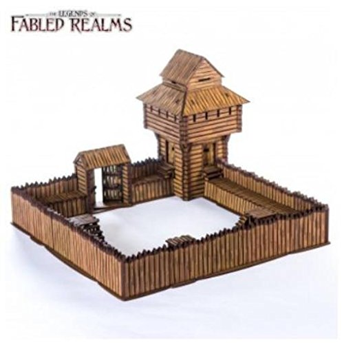 Fabled Realms - Assorted Buildings 28mm Sleevigal Fort (Pre-Finished)
