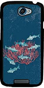 Case for HTC One S 4,3'' - Maritime by ruishername