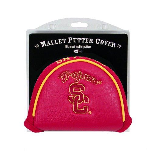 College Golf Putter (NCAA USC Trojans Golf Mallet Putter Cover)