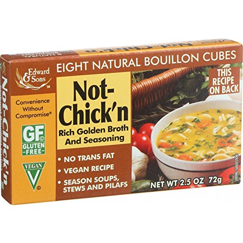 Edward & Sons Not Chicken Bouillon Cubes, 2.5 oz